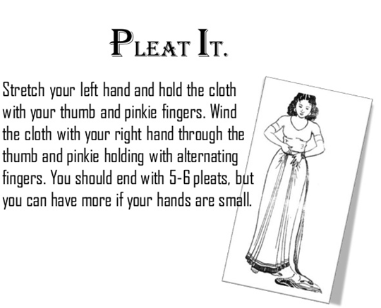 How to Wear Saree With Perfect Pleats
