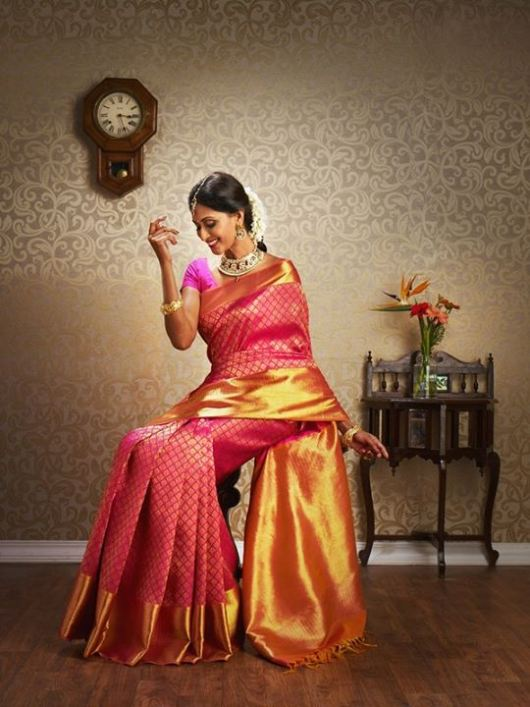 Tips for Choosing and Wearing Kanjivaram Saree for Wedding