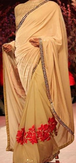 Saree Design by Manish Malhotra