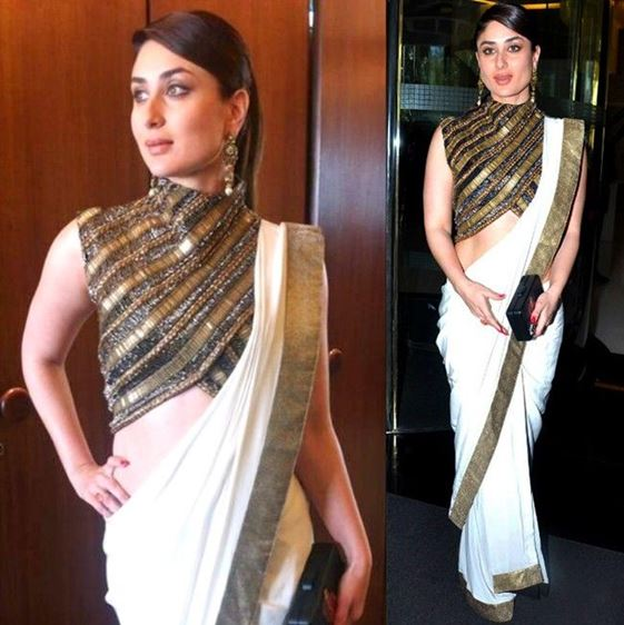 How to Wear a Saree Bollywood Style
