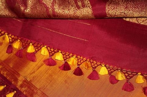 How to Make Saree Kuchu Designs
