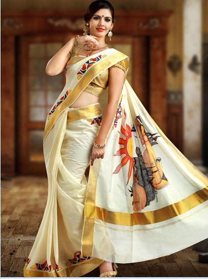 Kerala Saree Styles
