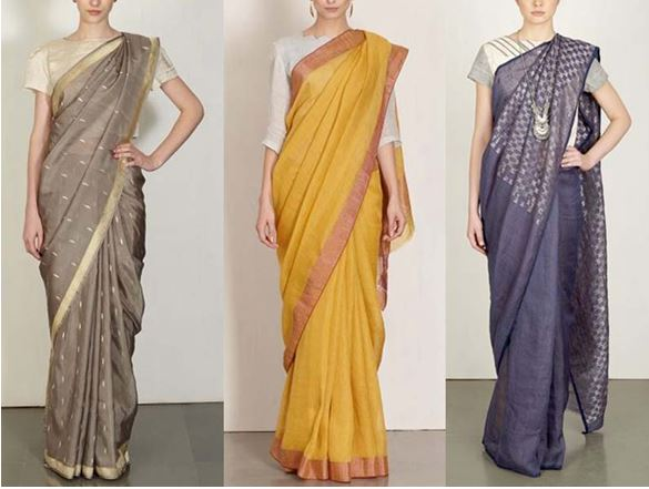Saree Office Wear