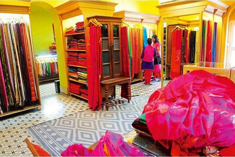 Saree Showroom Design