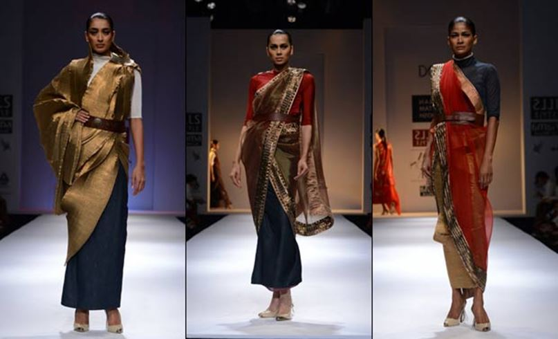 Innovative Saree Draping Styles