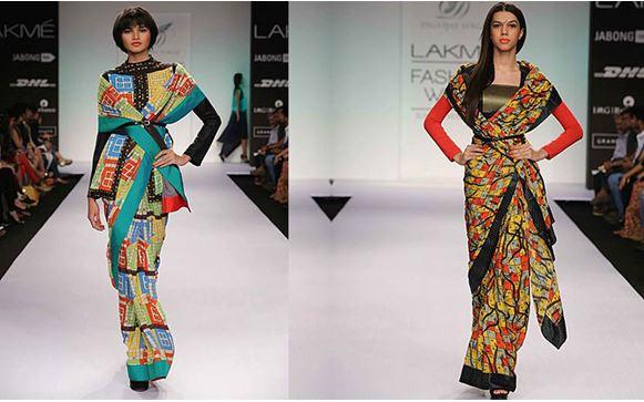 Innovative Saree Draping Styles