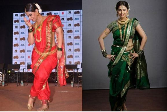 Wear Saree in Marathi Style