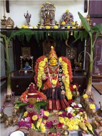 How to Wear Saree for Varamahalakshmi Pooja