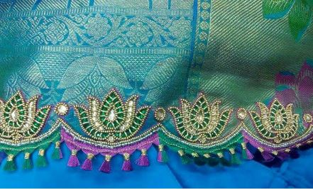 Make Saree Pallu Kuchu