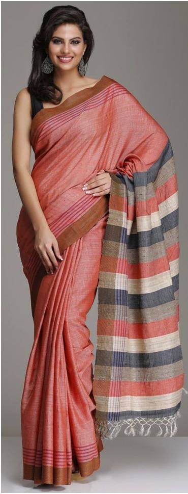 Saree Draping Styles to Look Slim